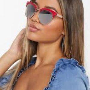 Quay Australia Cherry Red Sunglasses NWT
